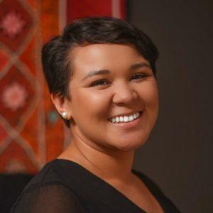 headshot of staff member, Nadia Ilunga