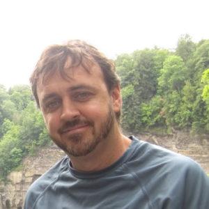 headshot of staff member, Tom Ross
