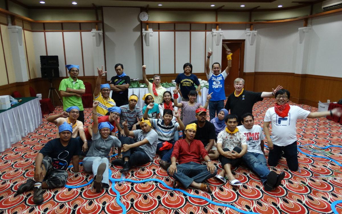 Indonesia staff teambuilding activity