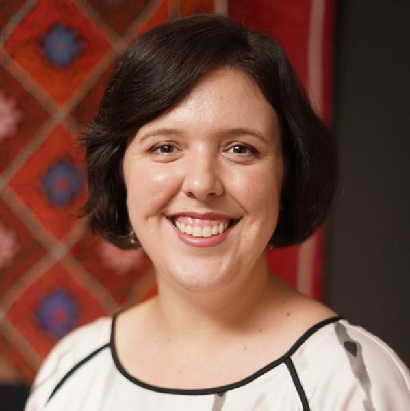 headshot of staff member, Sarah Ellison